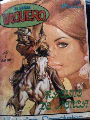 Primer número de El Libro Vaquero